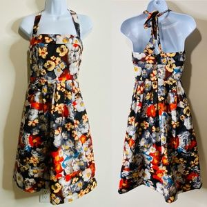 Anthropologie Hitherto Floral Dress